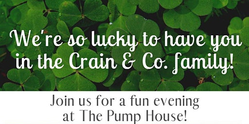 Crain & Co. Celebrity Bartending Night at the Pump House