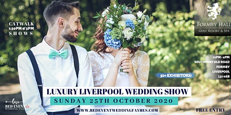 Luxury Liverpool Wedding Show - Formby Hall Golf Resort & Spa tickets