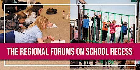 Regional Forum on School Recess - Calgary tickets