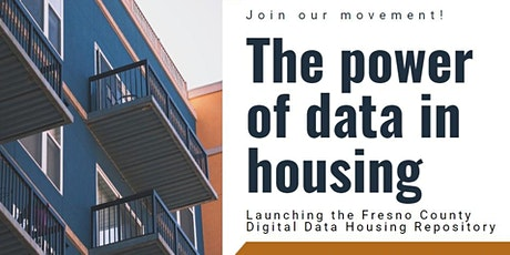 Launching the Fresno County Digital Data Housing Repository tickets