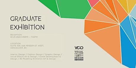 VCAD Graduation Exhibition Spring 2020 tickets
