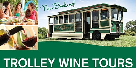 All inclusive Trolley Wine Tours tickets