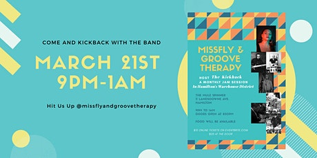 MissFly and Groove Therapy KickBack Party tickets