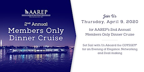 AAREP 2nd Annual Members Only Dinner Cruise tickets
