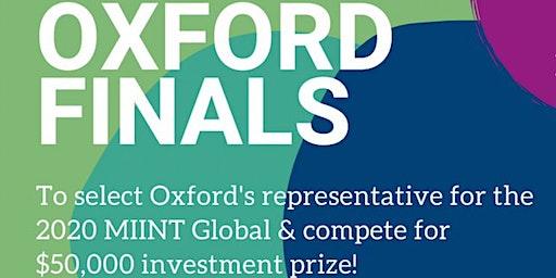 MIINT Oxford Finals