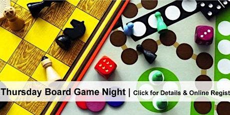 Board Game Night tickets