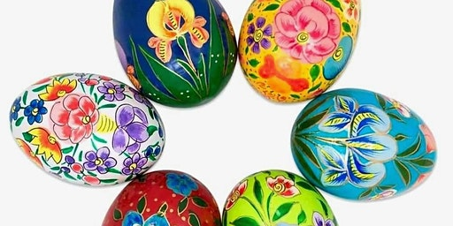 Wooden Egg Painting