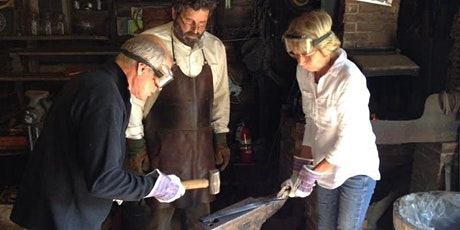 Introduction to Blacksmithing Workshop @ the Farm Museum (April) tickets
