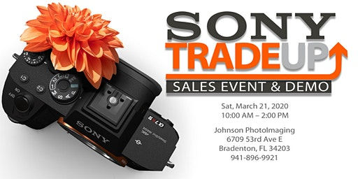 Sony Demo Day in March