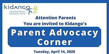 Parent Advocacy Corner at Baldwin Park tickets