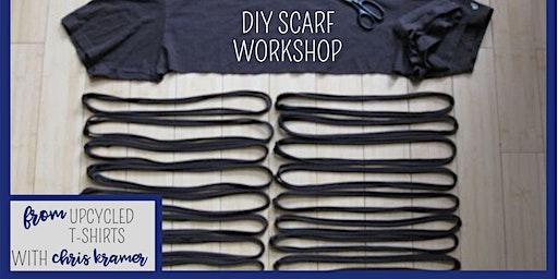 Upcycled T-Shirt Scarves   DIY Workshop with Chris Kramer