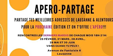 Partage tes adresses préférées de Lausanne! billets