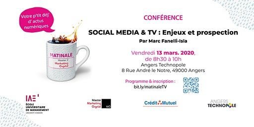 Social Media & TV : Enjeux et prospection