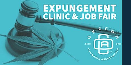 Cannabis Expungement Clinic & Job Fair tickets