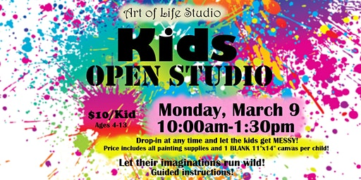Paint Session: Kids OPEN STUDIO