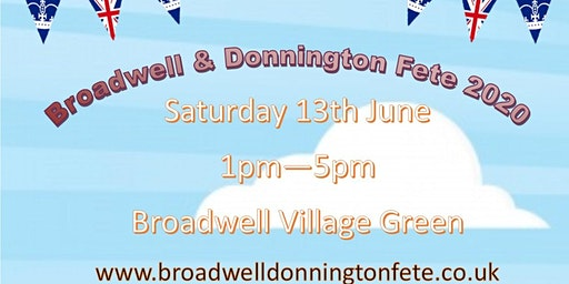 Broadwell And Donnington Village Fete 2020