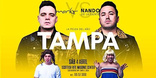 MARKO VS NANDO DE LA GENTE - TAMPA - LA PELEA DEL AÑO
