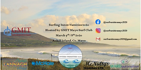 GMIT Mayo Surf Inter-Varsities 2020 tickets