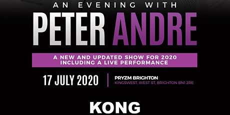 An Evening with Peter Andre - Brighton tickets