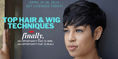 GET YOUR HAIR LICENSE IN LESS THAN TWO DAYS WITH TOP HAIR TECHNIQUES. tickets