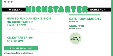 Kickstarter Workshops at MICA tickets