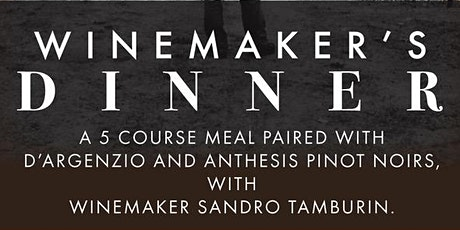 Pig and Pinot Winemakers Dinner tickets