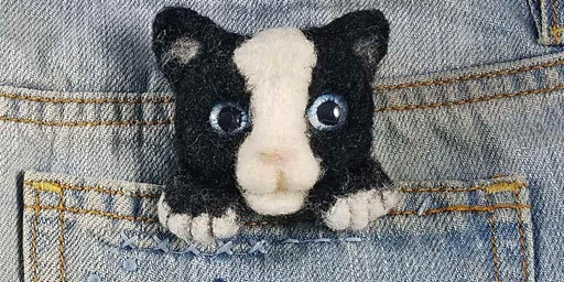 "A ""Cats Meow""-Needlefelt This!"