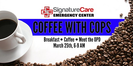 Coffee with a Cop tickets
