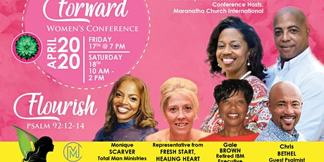 """Moving Forward Women's Conference: """"Flourish"""" tickets"""