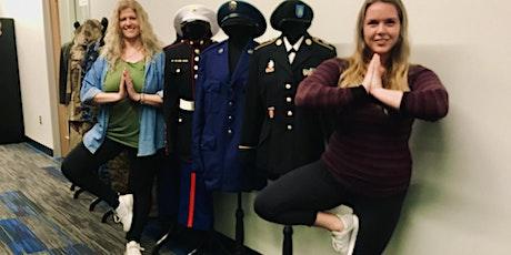 Steady Warriors Trauma-sensitive Yoga and iRest© Meditation Class tickets
