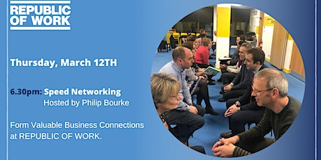 Speed Networking at REPUBLIC OF WORK tickets