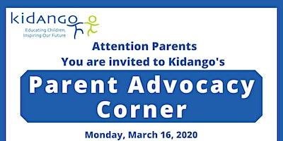 Parent Advocacy Corner at Decoto