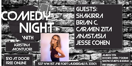 "Comedy Night with ""Kristina Montuori"" at Next Door at C&I tickets"