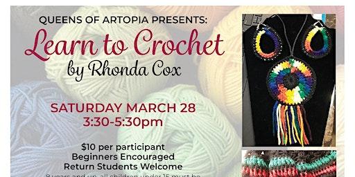 Learn to Crochet - by Rhonda Cox
