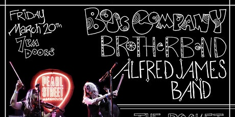 Boss Company w/ Alfred James Band & Brotherband tickets