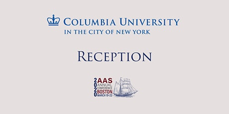 CANCELLED: 2020 AAS Columbia Reception tickets