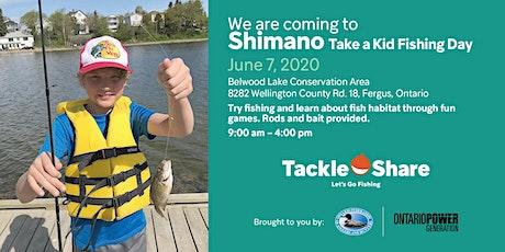 Shimano Take A Kid Fishing Day tickets