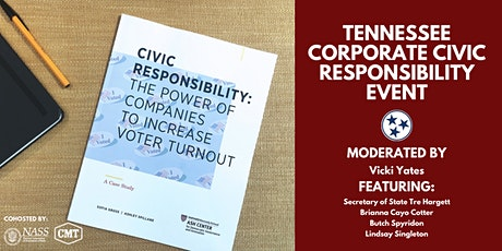 Tennessee Corporate Civic Responsibility Event tickets
