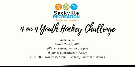 2020 4 on 4 Youth Hockey Challenge