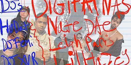 Digital Nas, Nate Dae, Leigh Paris, Lil Hazey tickets