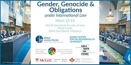 Gender, Genocide & Obligations under International Law tickets