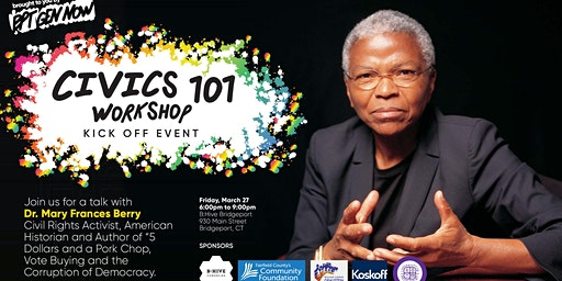 Civics 101 Kickoff Event: Dr. Mary Frances Berry