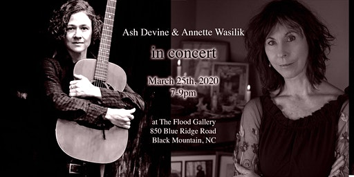 Annette Wasilik and Ash Devine in Concert at the Flood Gallery