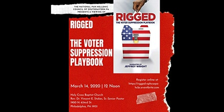 Rigged: The Voter Suppression Handbook: HOLY CROSS BAPTIST CHURCH tickets