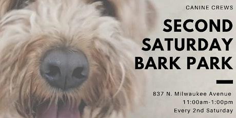 Second Saturday Bark Park tickets