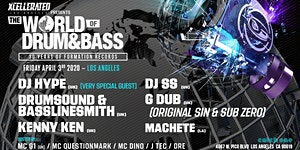 """Xcellerated Presents """"The World Of Drum & Bass"""" 2020..."""