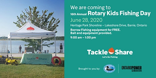 16th Annual Rotary Kids Fishing Day