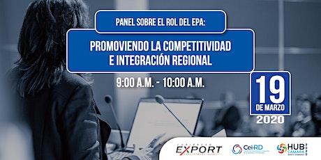 Promoviendo la competitividad e integración regional entradas