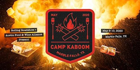 CAMP KABOOM tickets