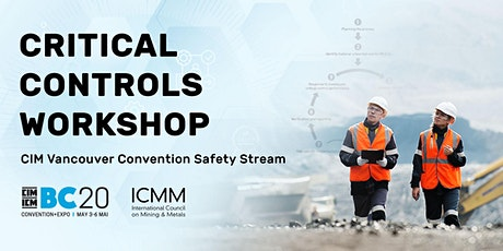 Critical Controls Workshop tickets